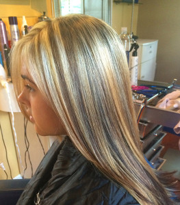 blonde coloring