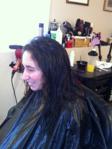 keratin treatment beginning