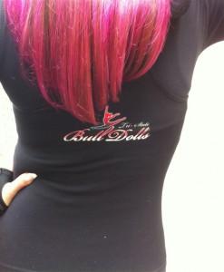 hot pink hair coloring