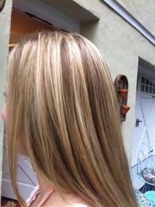 shiny blonde hair extensions Nyack NY
