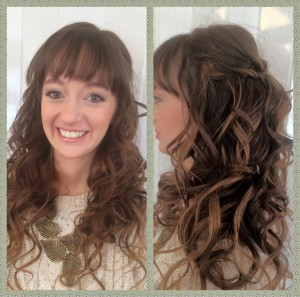 very curly brunette hair extensions