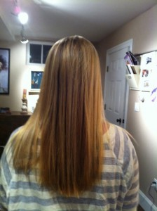 long hair extensions