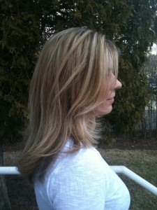 wavy long hair extensions Hair by Andrea